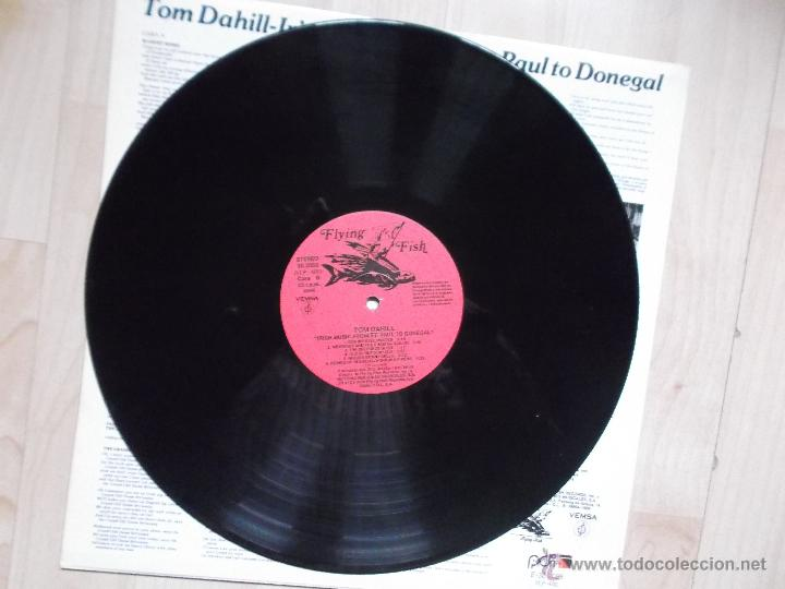 Discos de vinilo: TOM DAHILL - IRISH MUSIC FROM ST. PAUL TO DONEGAL 1989 - Foto 3 - 48434908