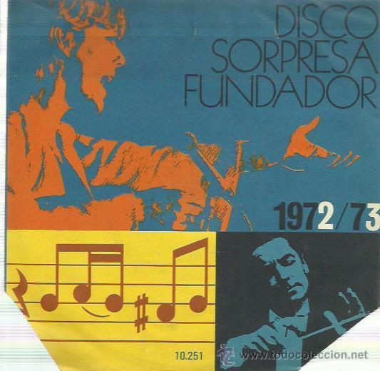 MIGUEL RIOS EP SELLO FUNDADOR (Música - Discos de Vinilo - EPs - Solistas Españoles de los 70 a la actualidad)