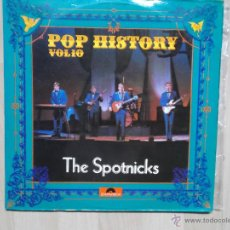 Discos de vinilo: THE SPOTNICKS POP HISTORY 1971 DOBLE LP. Lote 48441844