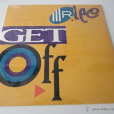 Discos de vinilo: MR. LEE - GET OFF (4 VERSIONES) 1992 USA MAXI SINGLE. Lote 48442968