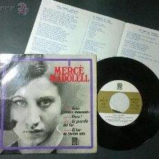 Discos de vinilo: MERCE MADOLELL / EL BAR DE TANTES NITS. Lote 48444724
