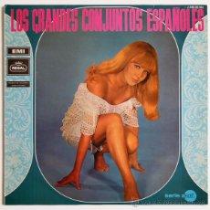 Discos de vinilo: VVAA - LOS GRANDES CONJUNTOS ESPAÑOLES (SALVAJES, Z-66, DIAPASON'S...) - LP SPAIN 1969 - REGAL. Lote 48447512