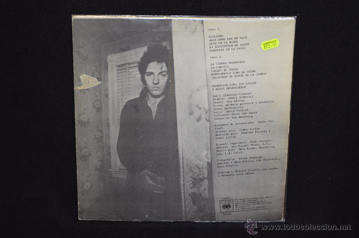 Discos de vinilo: BRUCE SPRINGSTEEN - DARKNESS ON THE EDGE OF TOWN - LP - Foto 2 - 53506926