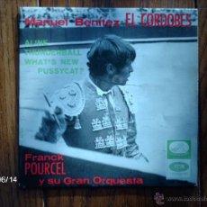 Discos de vinilo: FRANCK POURCEL Y SU GRAN ORQUESTA - MANUEL BENITEZ EL CORDOBÉS + 3. Lote 48451140