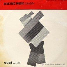 Discos de vinilo: ELEKTRIC MUSIC ?– LIFESTYLE 10´´ MAXI SINGLE PROMO. KRAFTWERK.. Lote 48454120