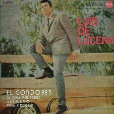 Discos de vinilo: LUIS DE LUCENA EP SELLO RCA VICTOR AÑO 1964. Lote 48455552