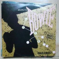 Discos de vinilo: DAVID BOWIE LETS DANCE - CAT PEOPLE - EMI ESPAÑA 1983. Lote 48456071