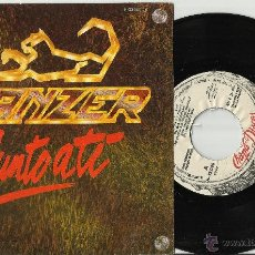 Discos de vinilo: PANZER SINGLE PROMOCIONAL JUNTO A TI / VIBORAS.1984.EN PERFECTO ESTADO. Lote 121050926