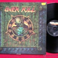 Discos de vinilo: OVER KILL - HORRORSCOPE - LP 1991 MEGAFORCE GERMANY INNER TRASH (VG++/VG++) M15. Lote 48458586
