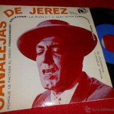 Discos de vinilo: CANALEJAS DE JEREZ PORQUE LE FALTABA EL RIEGO/SOLEARES/LA PUEBLA Y EL QUINTANAR/MIRABRAS EP 1966 EX. Lote 48460877