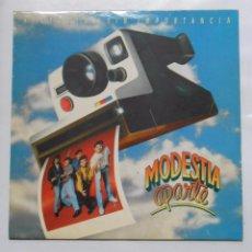 Discos de vinilo: MODESTIA APARTE. HISTORIAS SIN IMPORTANCIA. TDKDA9. Lote 48461000