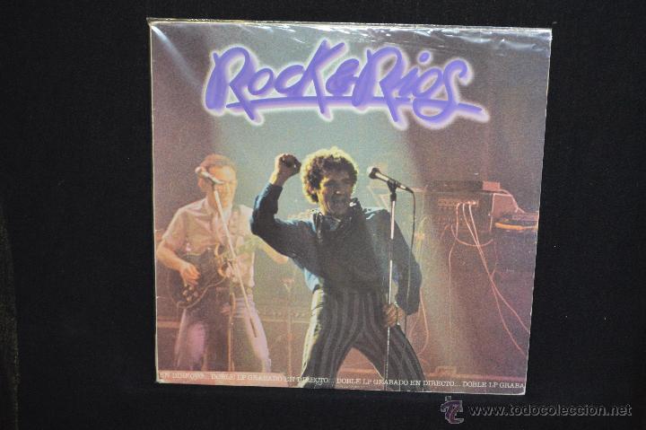 MIGUEL RIOS - ROCK & RIOS - 2LP (Música - Discos - LP Vinilo - Solistas Españoles de los 70 a la actualidad)