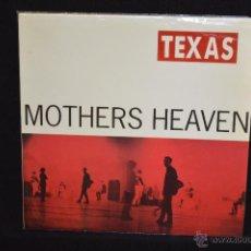 Discos de vinilo: TEXAS - MOTHERS HEAVEN - LP. Lote 48463430