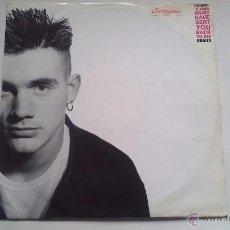 Disques de vinyle: CICERO - HEAVEN MUST HAVE SENT YOU BACK TO ME (REMIX) - 1992. Lote 48466754