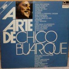 Disques de vinyle: CHICO BUARQUE - A ARTE DE CHICO BUARQUE EDIC. BRASILEÑA 2 LP´S - FONTANA - 1975. Lote 48467959
