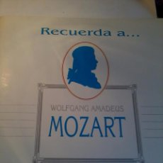 Discos de vinilo: DISCO DE VINILO. WOLFGANG AMADEUS MOZART. SINFONIAS 40 Y 35. C5V. Lote 48470159