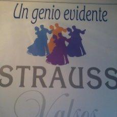 Discos de vinilo: UN GENIO EVIDENTE STRAUSS NEW CAVENDISH ORCHESTA. C4V. Lote 48470928