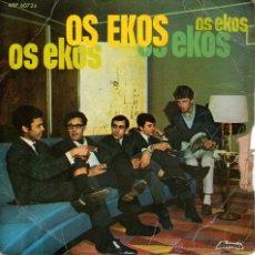 Discos de vinilo: OS EKOS - RARO EP SINGLE VINILO ROCK PORTUGUÉS - ESQUECE + 3 - EDITADO EN PORTUGAL - ALVORADA. Lote 48471067