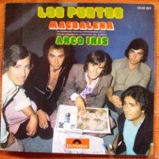 Discos de vinilo: SINGLE VINILO LOS PUNTOS MAGDALENA. Lote 48474588
