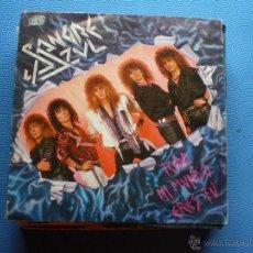 Discos de vinilo: SANGRE AZUL TODO MI MUNDO ERES TU SINGLE 1987 HISPAVOX PDELUXE. Lote 48475342