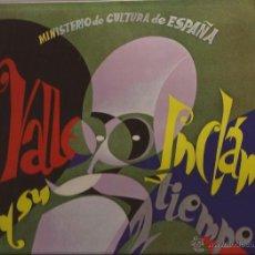 Discos de vinilo: LP-VALLE INCLAN Y SU TIEMPO-CFE 1978-PROMO-IMPERIO ARGENTINA ESTRELLITA CASTRO EL PROPIO VALLE INCLA. Lote 48475747