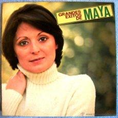 Discos de vinilo: MAYA ( ROSA MARIA LOBO ) SUS GRANDES EXITOS - EDICION HISPAVOX EN 1979.. Lote 48476108