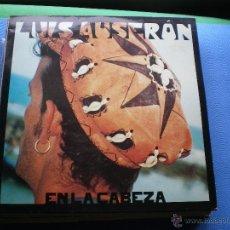 Discos de vinilo: LUIS AUSERON EN LA CABEZA LP 1994 ARIOLA CON ENCARTES EX RADIO FUTURA PDELUXE. Lote 48478554
