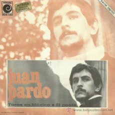 Discos de vinilo: JUAN PARDO SINGLE SELLO NOVOLA . Lote 48482167