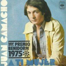 Discos de vinilo: JUAN CAMACHO SINGLE SELLO CBS. Lote 48482330