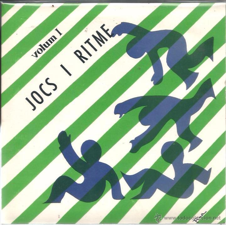 EP JOCS I RITME 1 ( XAVIER BATLLES ) (Música - Discos de Vinilo - EPs - Música Infantil)