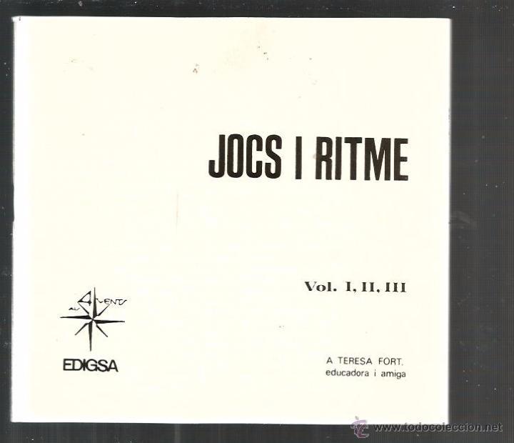 Discos de vinilo: EP JOCS I RITME 1 ( XAVIER BATLLES ) - Foto 3 - 48482394