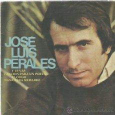 Discos de vinilo: JOSE LUIS PERALES EP SELLO HISPA VOX . Lote 48482615