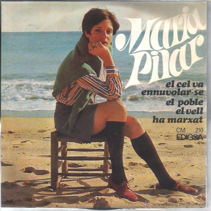 EP MARIA PILAR : EL CEL VA ENNUVOLAR-SE ( ARREGLOS : LLEÓ BORRELL ) (Música - Discos de Vinilo - EPs - Cantautores Españoles)