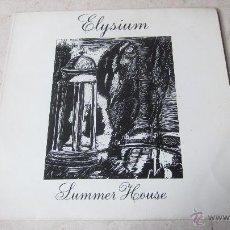 Discos de vinilo: ELYSIUM - SUMMER HOUSE - CAULDRON 1984. Lote 48487139