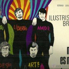 Discos de vinilo: LOS BRAVOS LP SELLO POLYDOR AÑO 1970 EDITADO EN MEXICO.ILUSTRISIMOS BRAVOS. Lote 48489131