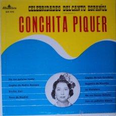 Discos de vinilo: CONCHITA PIQUER - CELEBRIDADES DEL CANTO ESPAÑOL VOL. 3 - EDICIÓN DE VENEZUELA. Lote 48490780