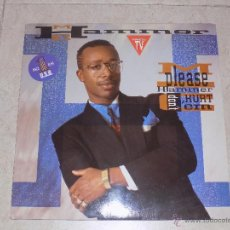Discos de vinilo: VINILO SINGLE DE MC HAMMER PLEASE DON'T HURT EM CAN'T TOUCH THIS. Lote 48491289