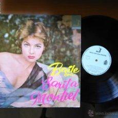 Discos de vinilo: BAILE CON SARITA MONTIEL LP EDICION MEJICO SARA. Lote 48493546