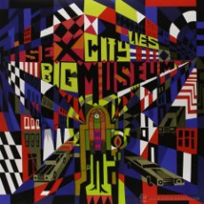 Discos de vinilo: LP SEX MUSEUM BIG CITY LIES VINILO + MP3 LOS CORONAS. Lote 127757111