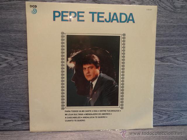 PEPE TEJADA. MISMO TÍTULO. LP / DCD - 1989. P R E C I N T A D O ***** (Música - Discos - LP Vinilo - Flamenco, Canción española y Cuplé)