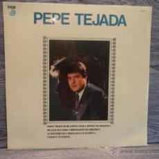 Discos de vinilo: PEPE TEJADA. MISMO TÍTULO. LP / DCD - 1989. P R E C I N T A D O *****. Lote 48500652