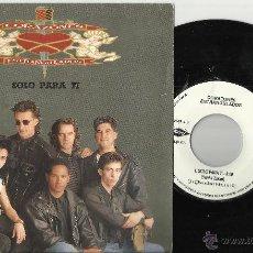 Discos de vinilo: CORAZONES ESTRANGULADOS SINGLE SOLO PARA TI.1991. Lote 48503855