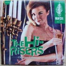 Discos de vinilo: THE HI-RISERS - CHRISTMAS LIGHTS - SINGLE MUNSTER RECORDS. Lote 48504103