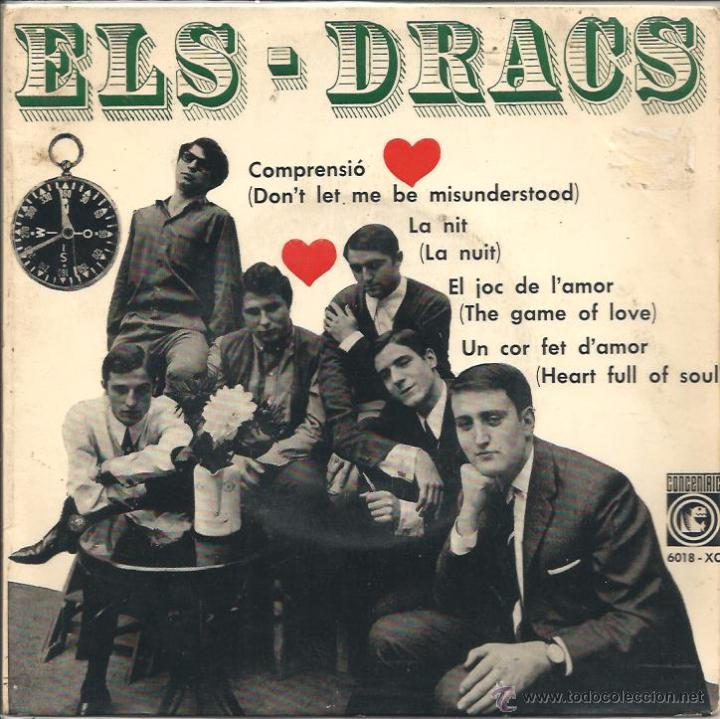 EP ELS DRACS : COMPRENSIÓ (Música - Discos de Vinilo - EPs - Grupos Españoles 50 y 60)