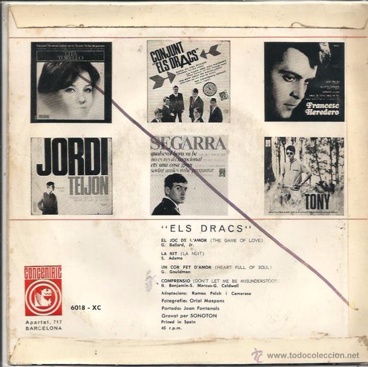 Discos de vinilo: EP ELS DRACS : COMPRENSIÓ - Foto 2 - 48505904