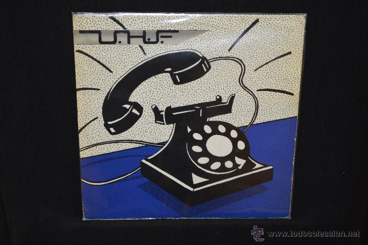 UHF / MOGOLLON - MAXI (Música - Discos de Vinilo - Maxi Singles - Grupos Españoles de los 70 y 80)
