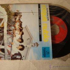 Discos de vinilo: ANTIGUO DISCO SINGLE ORIGINAL AÑOS 50/60 ROQUE NUBLO JUAN LEMES. Lote 48519499