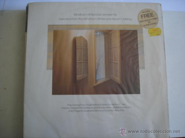 WINDHAM HILL RECORDS SAMPLER ´86 (Música - Discos - LP Vinilo - Jazz, Jazz-Rock, Blues y R&B)