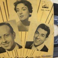 Discos de vinilo: LUIS MARIANO - GLORIA LASSO - FRANCK POURCEL -EP . Lote 48525011