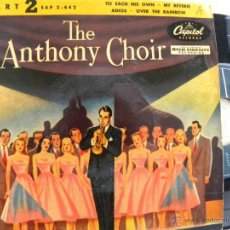 Discos de vinilo: RAY ANTHONY AND HIS ORCHESTRA -EP -CAPITOL. Lote 48525129